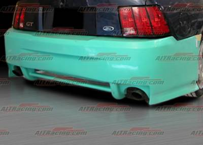 AIT Racing - Ford Mustang AIT Racing SIN Style Rear Bumper - FM99HISINRB