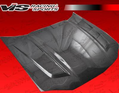 VIS Racing - Chevrolet Camaro VIS Racing SCV Black Carbon Fiber Hood - 98CHCAM2DSCV-010C