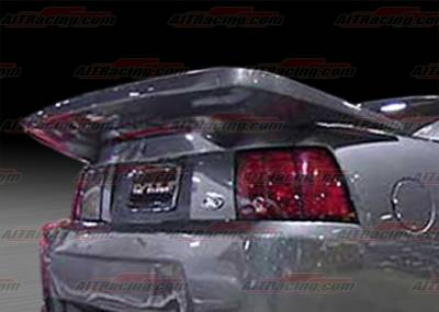 AIT Racing - Ford Mustang AIT Racing SIN Style Rear Wing - FM99HISINRW