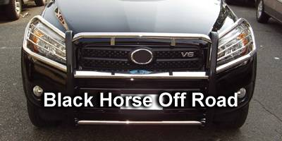 Black Horse - Toyota Rav 4 Black Horse Push Bar Guard