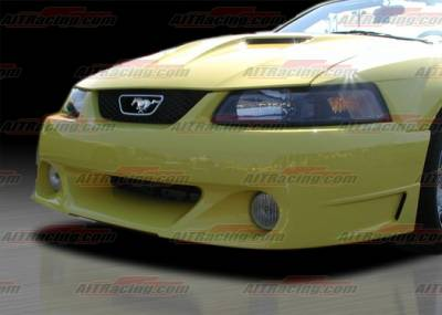 AIT Racing - Ford Mustang AIT Racing Stallion-2 Style Front Bumper - FM99HISTAFB