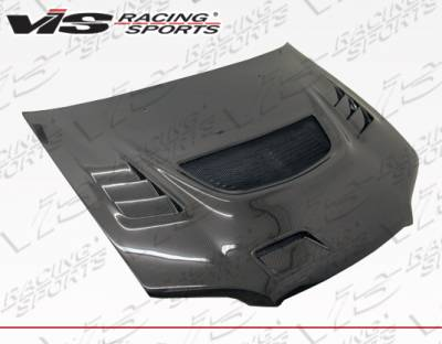 VIS Racing - Honda Accord 4DR VIS Racing G-Speed Carbon Fiber Hood - 98HDACC4DGSP-010C