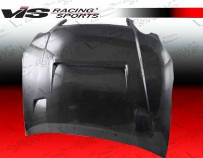 VIS Racing - Lexus GS VIS Racing Alfa Black Carbon Fiber Hood - 98LXGS34DALF-010C