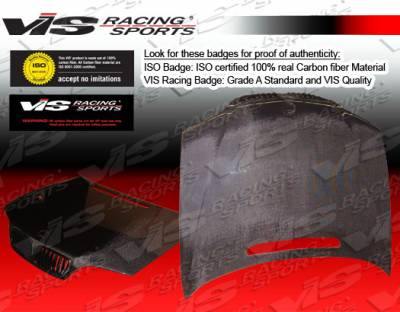 VIS Racing - BMW 3 Series 2DR VIS Racing OEM Black Carbon Fiber Hood - 99BME462DOE-010C