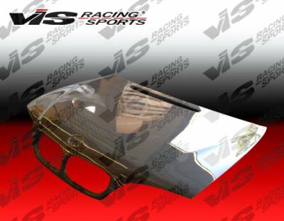 VIS Racing - BMW 3 Series 4DR VIS Racing OEM Black Carbon Fiber Hood - 99BME464DOE-010C