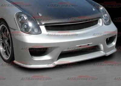 AIT Racing - Infiniti G35 4DR BMagic Wondrous Series Front Bumper - G3502BMGLSFB4