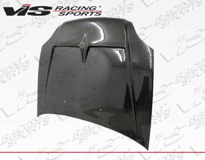 VIS Racing - Honda Civic VIS Racing BX Carbon Fiber Hood - 99HDCVC2DBX-010C