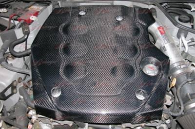 AIT Racing - Infiniti G35 2DR AIT Racing Carbon Fiber Engine Cover - G3503BMECC