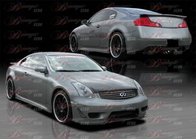 AIT Racing - Infiniti G35 2DR AIT Racing Wondrous Style Complete Body Kit - G3503BMGLSCK2