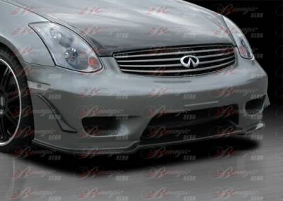 AIT Racing - Infiniti G35 2DR AIT Racing Wondrous Style B-Magic Front Bumper - G3503BMGLSFB2