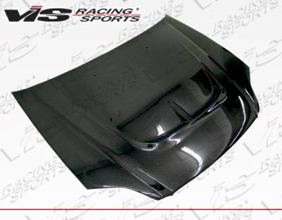 VIS Racing - Honda Civic VIS Racing Monster Carbon Fiber Hood - 99HDCVC2DMON-010C