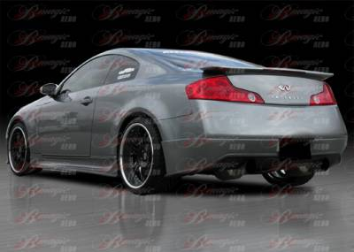 AIT Racing - Infiniti G35 2DR AIT Racing Wondrous Style B-Magic Rear Add-On - G3503BMGLSRS2