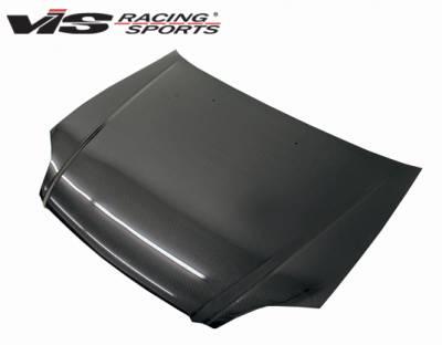 VIS Racing - Honda Civic VIS Racing OEM Style Carbon Fiber Hood - 99HDCVC2DOE-010C