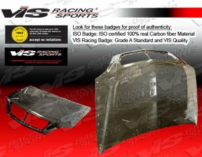 VIS Racing - Lexus RX300 VIS Racing OEM Black Carbon Fiber Hood - 99LXRX34DOE-010C