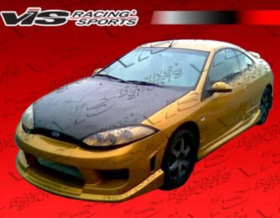 VIS Racing - Mercury Cougar VIS Racing OEM Black Carbon Fiber Hood - 99MYCOU2DOE-010C