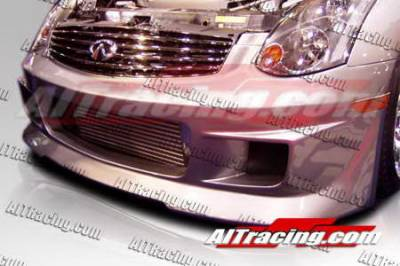 AIT Racing - Infiniti G35 AIT Racing G-Racer Style Front Bumper - G3503HIGRSFB2