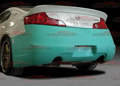 AIT Racing - Infiniti G35 2DR AIT Racing Spec-I Style Rear Bumper - G3503HIINGRB