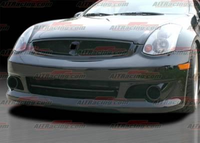 AIT Racing - Infiniti G35 2DR AIT Racing Spec-K Style Front Bumper - G3503HIKENFB