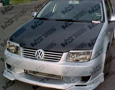 VIS Racing - Volkswagen Jetta VIS Racing OEM Black Carbon Fiber Hood - 99VWJET4DOE-010C