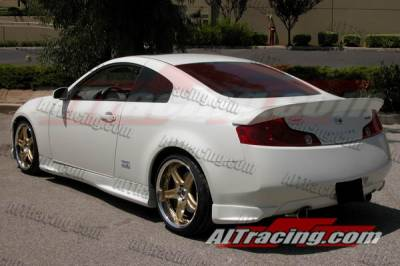 AIT Racing - Infiniti G35 2DR AIT Racing SAM Style Rear Wing - G3503HISAMRW