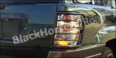 Black Horse - Jeep Grand Cherokee Black Horse Taillight Guards