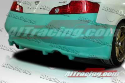 AIT Racing - Infiniti G35 2DR AIT Racing VS Style Rear Bumper - G3503HIVSSRB