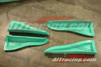 AIT Racing - Infiniti G35 2DR AIT Racing VS Style Side Add-On - G3503HIVSSSS