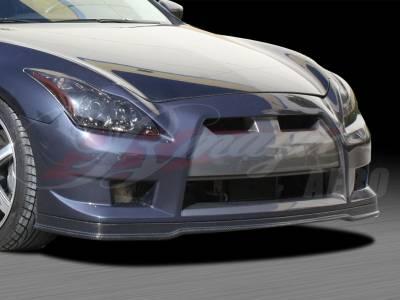 AIT Racing - Infiniti G37 AIT Racing GT-R Style Front Bumper - G3708BMGTRFB2C