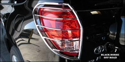 Black Horse - Toyota Rav 4 Black Horse Taillight Guards