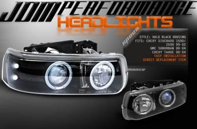 Custom - JDM Black LED Pro Headlight