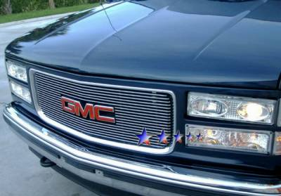 APS - GMC CK Truck APS Billet Grille - Upper - Aluminum - G65714A