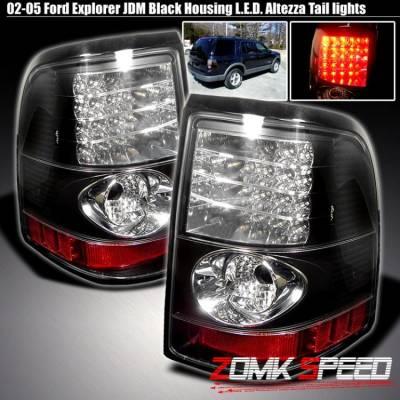 X3 - Black LED Tail Lights