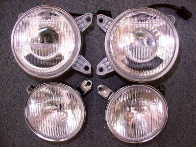 Custom - Angel Eye projector Headlights