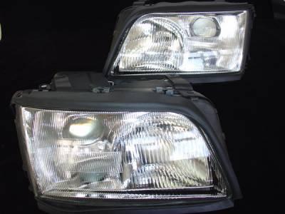 Custom - Euro Glass Pro Headlights