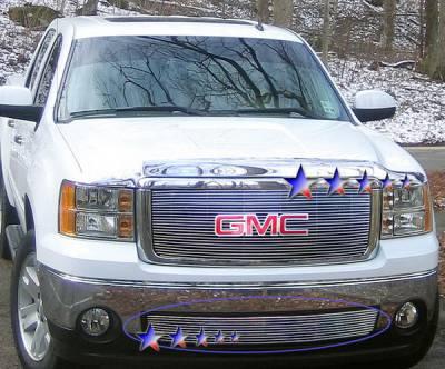 APS - GMC Sierra APS Billet Grille - Bumper - Aluminum - G66495A