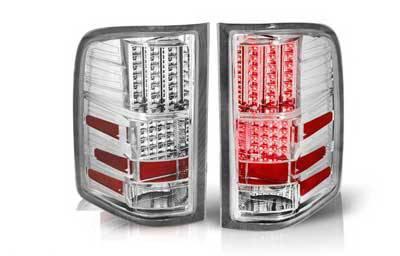 WinJet - Chevrolet Silverado WinJet LED Taillights - WJ20-0067-01