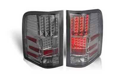 WinJet - Chevrolet Silverado WinJet LED Taillights - WJ20-0067-02