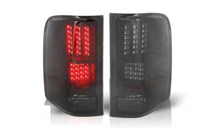 WinJet - Chevrolet Silverado WinJet LED Taillights - WJ20-0067-05