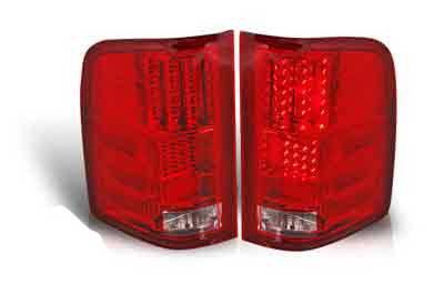 WinJet - Chevrolet Silverado WinJet LED Taillights - WJ20-0067-08