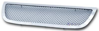 APS - GMC Yukon APS Wire Mesh Grille - without Logo Opening - Upper - Stainless Steel - G75779S
