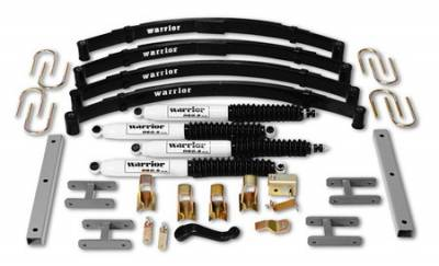 Warrior - Jeep Wrangler Warrior Front Lift Kit - 4 Inch - 30640