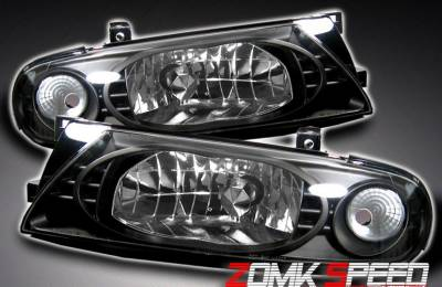 Custom - Black Crystal Headlights