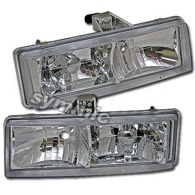 Custom - Crystal Euro Headlights