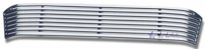 APS - GMC Yukon APS CNC Grille - with Tow Hook Covered - Bumper - Aluminum - G95780A