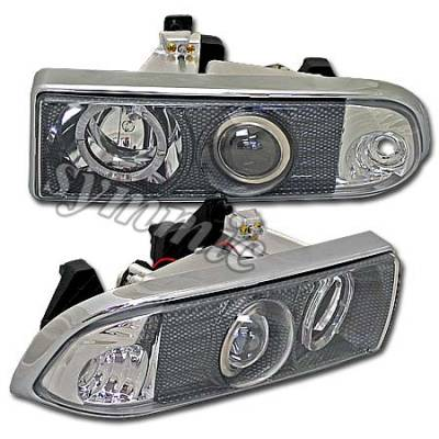 Custom - Carbon Halo Pro Headlights