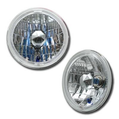 Custom - Diamond Halo Headlights