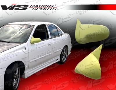 VIS Racing - Nissan Sentra VIS Racing Type-S Mirror - Fiberglass - 00NSSEN4DSPN-014
