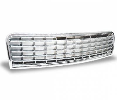 4CarOption - Audi A4 4CarOption Front Hood Grille - GR-A40105-CM