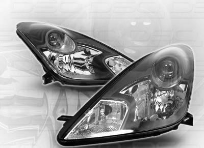 Custom - Black GTS Pro Headlights