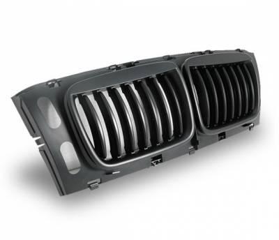 4CarOption - BMW 5 Series 4CarOption Front Hood Grille - GR-E3494956BB-A